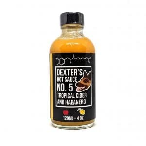 Dexters Tropical Cider and Habanero Hot Sauce
